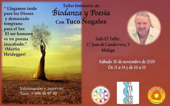 biodanza y poesia tuco nogales malaga